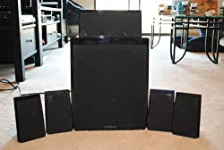 commercial Insigina 5.1ch Home Theater Speaker-Black insignia sound system
