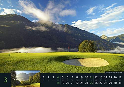 Golf 2018 – Sportkalender / Golfkalender international (49 x 34) - 7