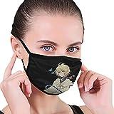Masks-Mika , Owari No Seraph Reusable Cotton Anti Dust Cover Black