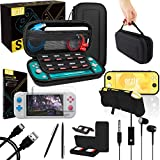 SWITCH LITE ACCESSORY BUNDLE: A great value starter pack with useful accessories to help you make the most of your new 2019 Nintendo Switch Lite console ESSENTIAL SWITCH LITE ACCESSORIES: Includes protective Switch Lite case and screen protectors (te...