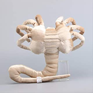 qwermz Peluches, 33cm Alien Plush Toys Facehugger Scary Toys Monster Stuffed Animals Doll Gift