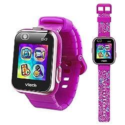 powerful Special edition with VTech KidiZoom DX2 smartwatch, flower bird and bonus vivid purple bracelet