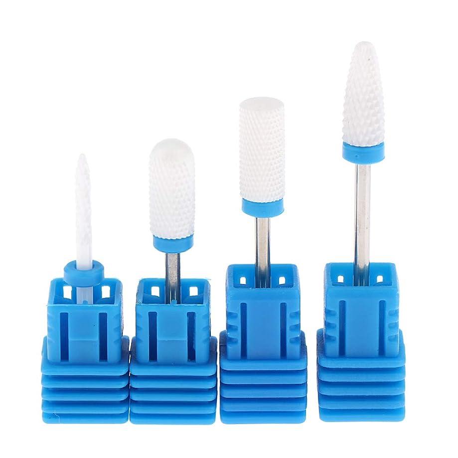 FLAMEER Nail Grinding Heads Tool Professional Nail Polishing Care Nail Art Care Nail Caring Tool