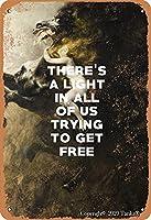 無料のアートポスターを得るためにしようとしているすべての私たちの光は