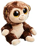 Ty 7136181 Beanie Boo Plush-Audrey The Monkey - Peluche (15 cm), Color marrn