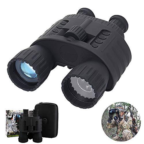 SSeir Draussen HD Digital Nachtsichtgerät Fernglas, Tragbar 4X50 Fernrohr Infrarot Für Wild Lebende Tiere Tag-Und Nacht Patrouillieren