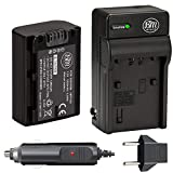 BM Premium NP-FV50 Battery and Battery Charger for Sony DCR-SX44 DCR-SX45...