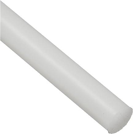 12 Length Standard Tolerance Round Rod Transparent Clear Polycarbonate 1/2 Diameter PC ASTM D3935