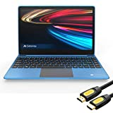 Gateway Notebook Ultra Slim Laptop 14.1' IPS FHD Intel Core i5-1035G1 Up to 3.6GHz 16GB RAM 256GB SSD USB-C FP Reader Webcam HDMI Wi-Fi THX Audio Win 10 Blue /w Mytrix HDMI Cable