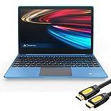 "Gateway Notebook Ultra Slim Laptop 14.1"" IPS FHD Intel Core i5-1035G1 Up to 3.6GHz 16GB RAM 256GB SSD USB-C FP Reader Webcam HDMI Wi-Fi THX Audio Win 10 Blue /w Mytrix HDMI Cable"