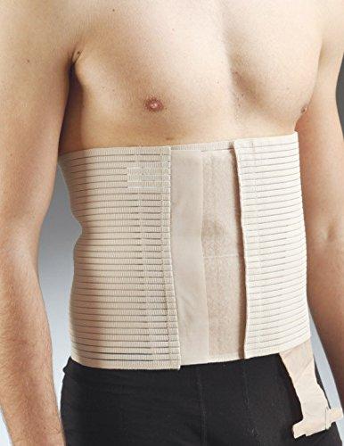 Aurafix - Stoma-Bandage weiß (26 cm hoch), Lochdurchmesser 8cm