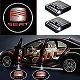 2 Stücke Wireless Car Door Einstiegsbeleuchtung Projektor Auto Logo Türbeleuchtung Willkommen...