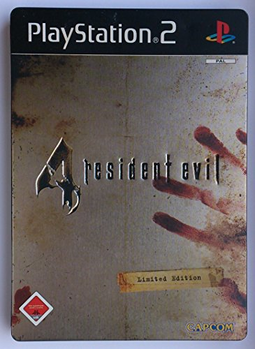 Resident Evil 4, PlayStation 2/PS2, Limited Steelbox Edition mit Mini-Lösungsbuch