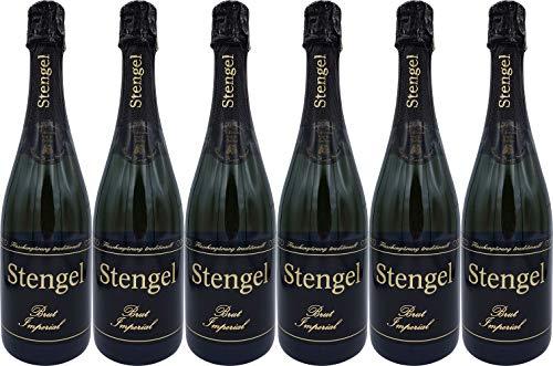 Sekt- und Weinmanufaktur Stengel Cuvée Imperial Brut (herb) (6 x 0.75 l)
