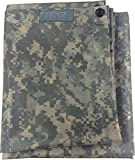 Fire Force Item 8740-21 Waterproof Ripstop Hooded Nylon Poncho Long 55 x 90 Made in U.S.A. (ACU Camo)