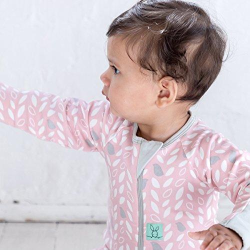 Ergopouch Ergococoon Ergopouch Layers Onesie Schlafanzug aus Bio Baumwolle Naturel 1.0 Baby SchlafsackSleep Suit Bio Baumwolle 0-3 Monate