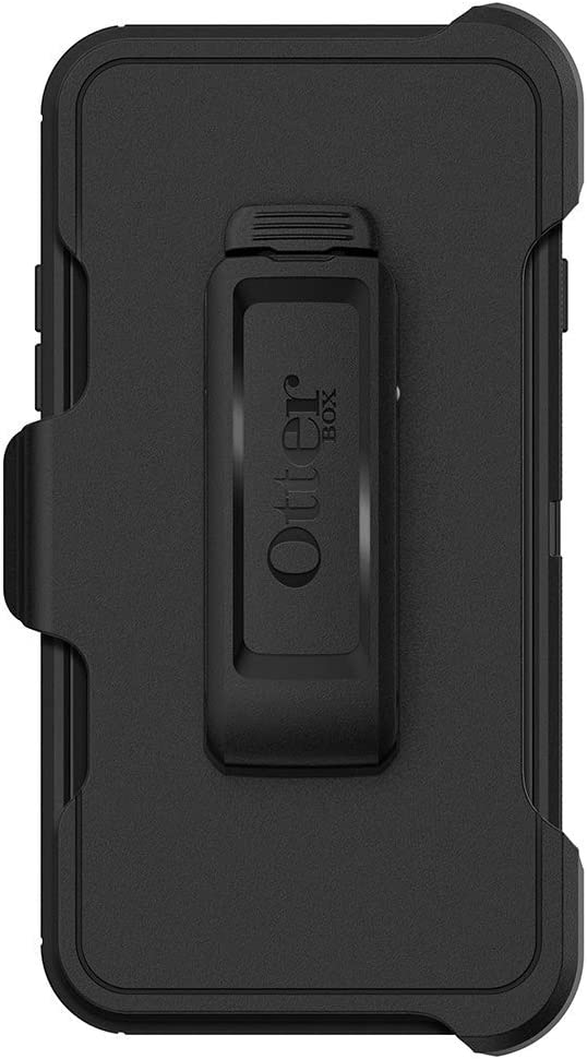OtterBox DEFENDER SERIES Case for iPhone SE (2nd Gen - 2020) & iPhone 8/7 (NOT PLUS) - Retail Packaging - BLACK
