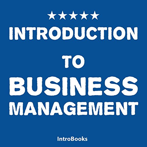 Introduction to Business Management audiobook cover art