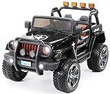 Actionbikes Coche ELECTRICO para NIÑO Jeep Wrangler 2 PLAZAS 24 V