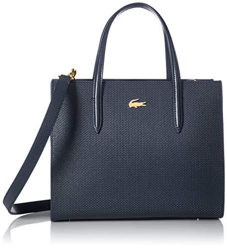 Lacoste Women CHANTACO Small Shopper Bag, Peacoat
