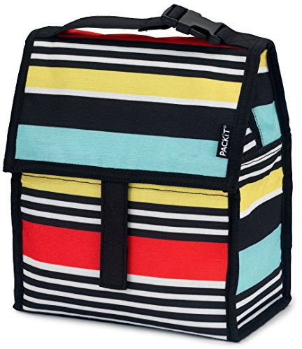 Packit Borsa Termica, Multicolore (Surf Stripe)