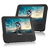 """IMPECCA DVD Player, Portable Dual Screen DVD 7"""" Player for Car Headrest or"""