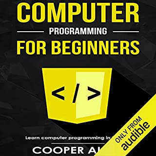 Computer Programming for Beginners audiobook cover art