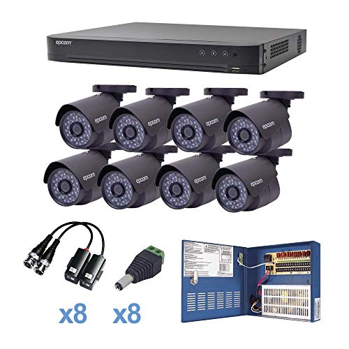 kit camaras de seguridad 2 megapixeles fabricante EPCOM