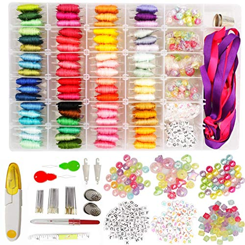Why Should You Buy Outgeek 399PCS Embroidery Thread Kit DIY Cross Stitch Thread Sewing Thread for Be...