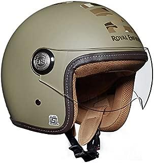 Royal Enfield Desert Storm Open Face with Visor Helmet Size (XL)62 CM (RRGHEI000068)