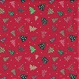 Textiles français Baumwollstoff Weihnachtsstoff | Überall