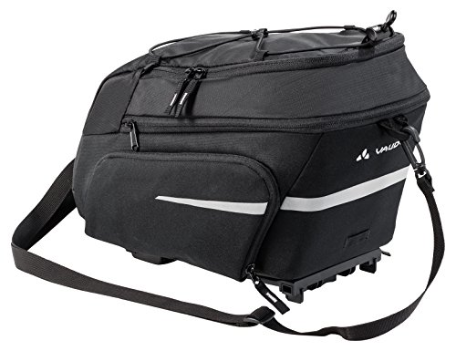 VAUDE Radtaschen Silkroad Plus (i-Rack), black, one Size, 129150100