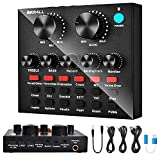 V8 Sound Card, REMALL Sound Effects Board for Podcast...
