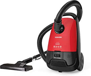 مكنسة كهربائية من توشيبا VC-EA1600SE – احمر واسود، 1600 وات