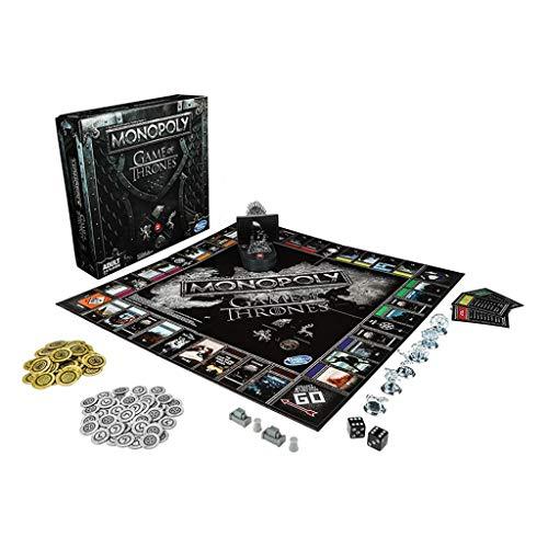 Monopoly Game Juego de Mesa para niños de 8 años en adelante;Hot TV Series Juego de Mesa temático Juego de Fiesta Familiar Regalo para Hombres y Adolescentes (Color: A)