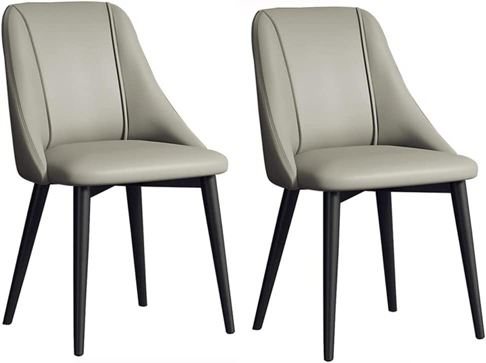 VEESYV Kitchen Dining Chairs Set of PU Bac Modern High At Selling the price 2 Leather