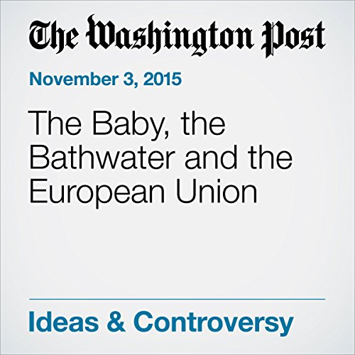 The Baby, the Bathwater and the European Union audiobook cover art