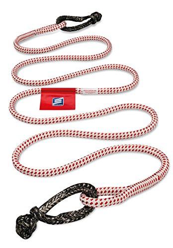 Seilflechter Abschleppseil, 20 mm Durchmesser, 5 m lang, Systembruchlast: 8.000 daN, Kernmantel mit 2 Softschäkeln, in Klarsichttasche