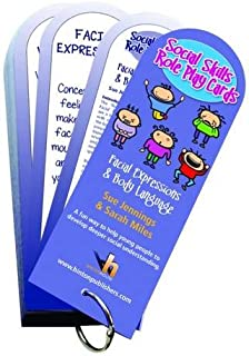 Social Skills Role Play Cards: Facial Expressions & Body Language