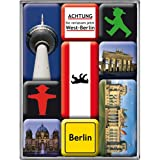 Nostalgic Art Magnet-Set 9-teilig, Berlin - Ampelmann