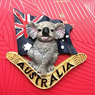 Qlychee Australian Koala Fridge Magnets Kawaii Animal Refrigerator Sticker Souvenir Gift