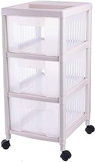 Boîtier de Rangement de Stockage de Fruits en Plastique Boîte de Rangement Multicouche Plancher Cuisine de Cuisine et Pani...
