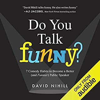 Do You Talk Funny? audiobook cover art