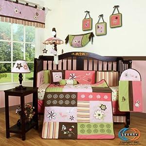 GEENNY Boutique 13 Piece Crib Bedding Set, Floral Dream