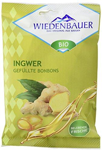 Wiedenbauer Bonbons Ingwer, 20er Pack (20 x 75 g)