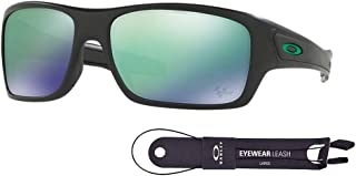 Oakley Turbine OO9263 Sunglasses For Men+BUNDLE with Oakley Accessory Leash Kit