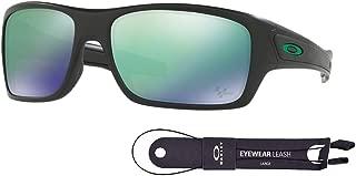 Turbine OO9263 Sunglasses For Men+BUNDLE with Oakley Accessory Leash Kit