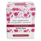 J.Herbin 13768T Tinte Fein Parfümierte mit rosenduft, 30 ml, rot