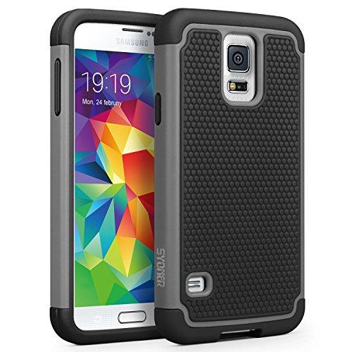 Galaxy S5 Case, SYONER [Shockproof] Hybrid Rubber Dual Layer Armor...
