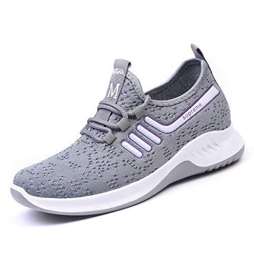 Sneaker Calzado Casual para Correr Calzado Deportivo Calzado Deportivo para Damas Calzado para Correr Al Aire Libre Zapatillas De Running Gimnasio Sneakers